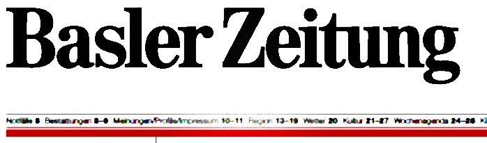 Artikel für die BaslerZeitung
