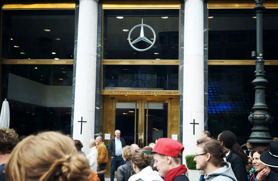 «Marsch der Entschlossenen» in Berlin,21.6.2015