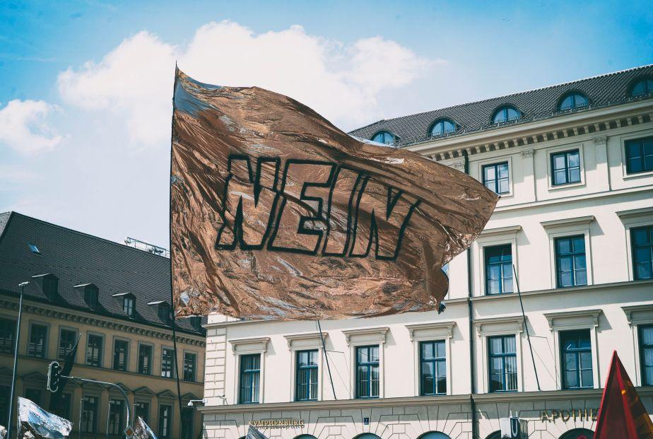 """Demo """"Die Vielen"""",19.5.2019"""